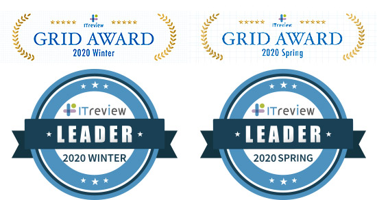 ITreview Grid Award 2020 Winter&Spring「LEADER」