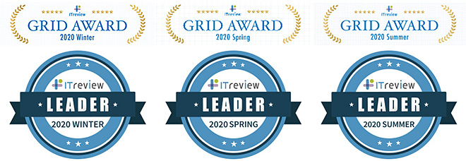 3期連続!BizRobo!が「ITreview Grid Award 2020 Summer」で受賞